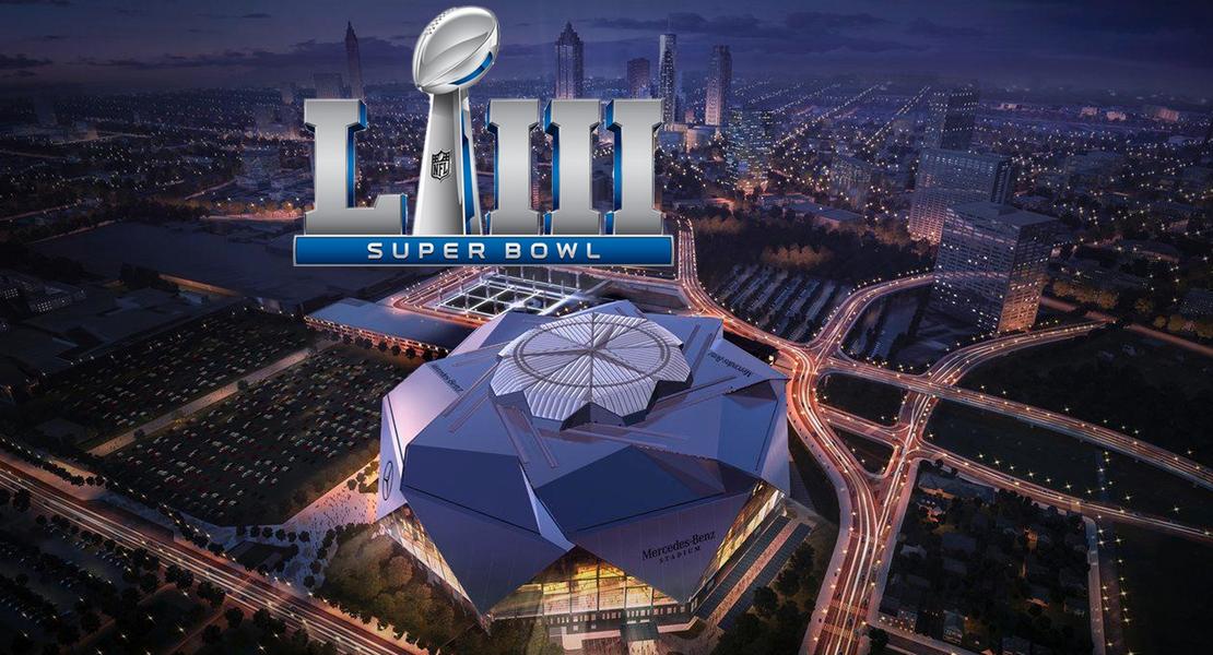 Super Bowl 2019, Mercedez-Benz Stadium