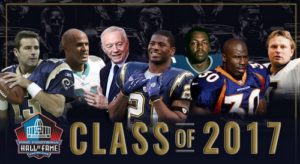 Pro Football Hall of Fame Class 2017