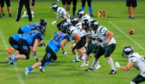 IFAF Champions League 2016, Panthers Wrocław - Danube Dragons