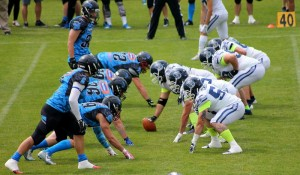 IFAF Champions League 2016, Panthers Wrocław - Milano Seamen