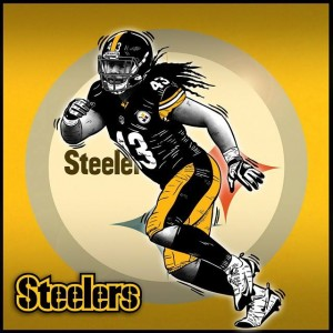Troy Polamalu, legenda Pittsburgh Steelers